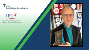 Dr. Eric Endlich IECA Making A Difference Award Winner